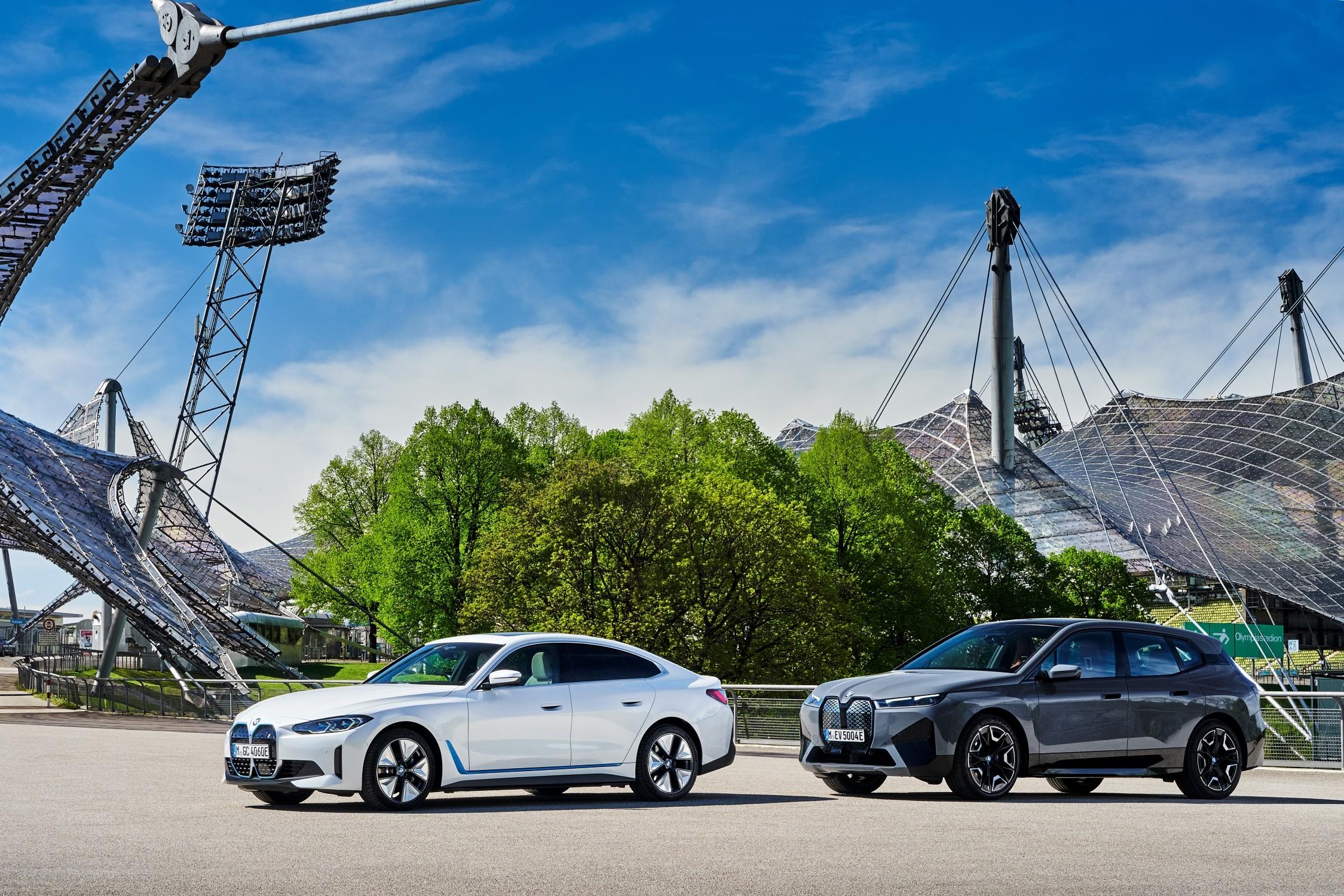 LOS NUEVOS BMW iX Y BMW i4