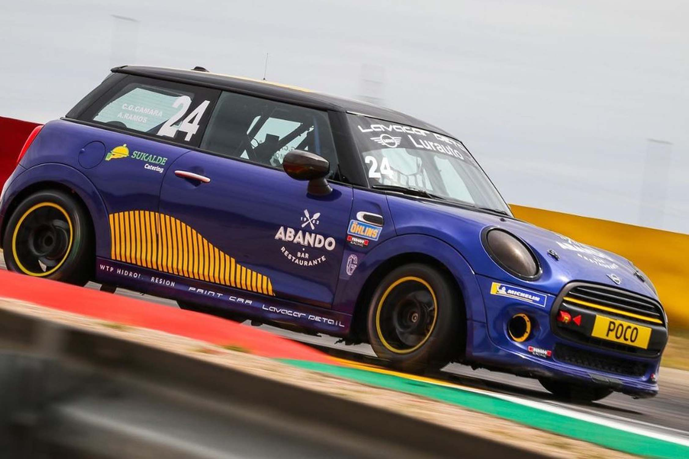 Última cita de la Copa Cooper, con resultados excelentes para los equipos gestionados por Lurauto Motorsport