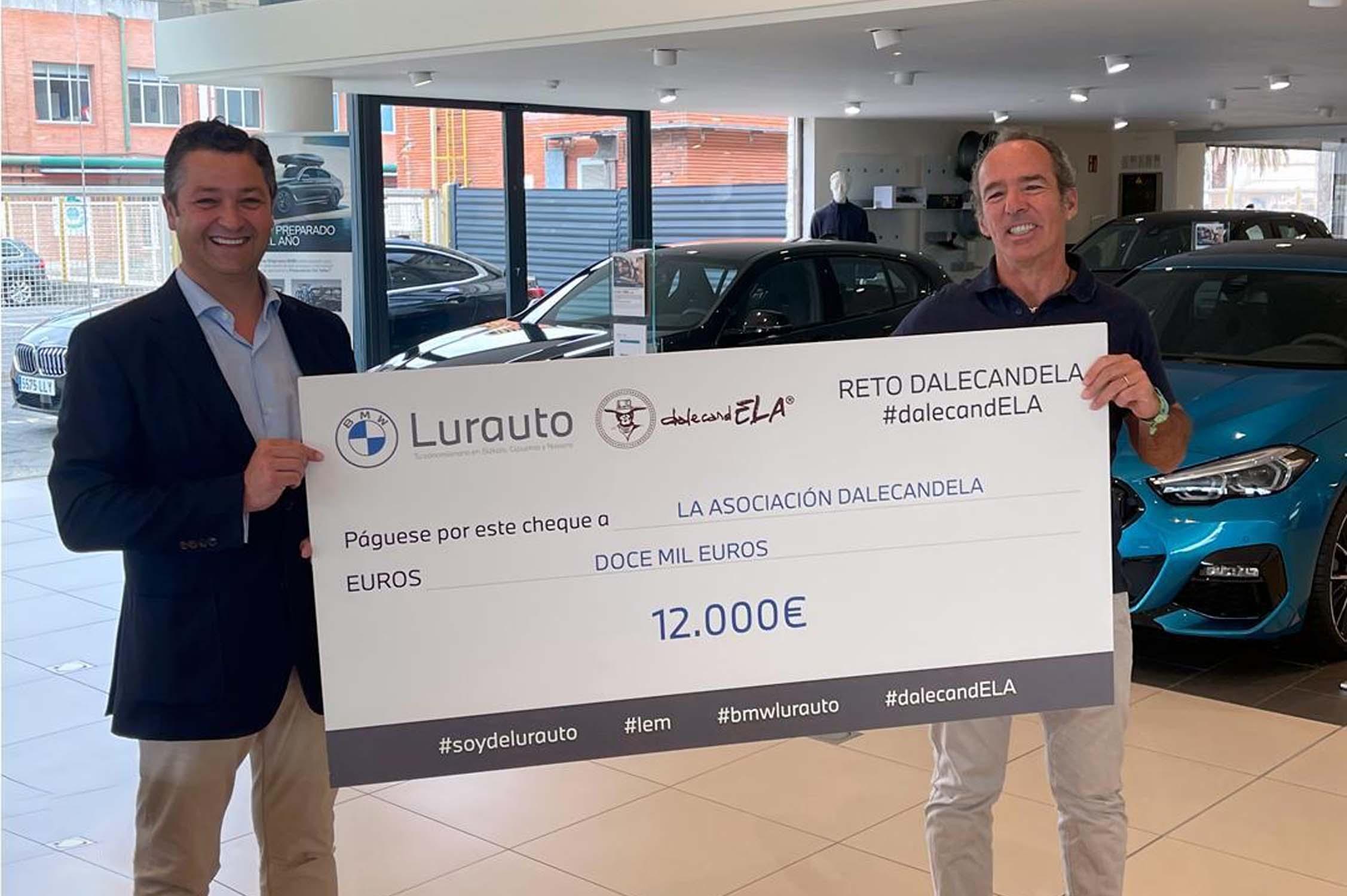 LURAUTO DONA 12.000€ EN LA LUCHA CONTRA LA ELA